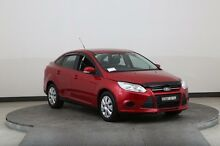 2013 Ford Focus LW MK2 Upgrade Trend Red 6 Speed Automatic Sedan Smithfield Parramatta Area Preview