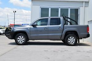 2011 Volkswagen Amarok 2H TDI400 (4x4) Grey 6 Speed Manual Dual Cab Utility South Maitland Maitland Area Preview