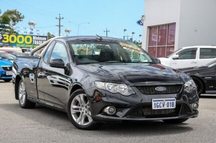 2008 Ford Falcon FG XR6 Ute Super Cab Turbo Black 6 Speed Manual Utility Myaree Melville Area Preview