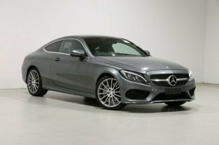 2016 Mercedes-Benz C200 205 MY16 Grey 7 Speed Automatic Coupe Bentley Canning Area Preview