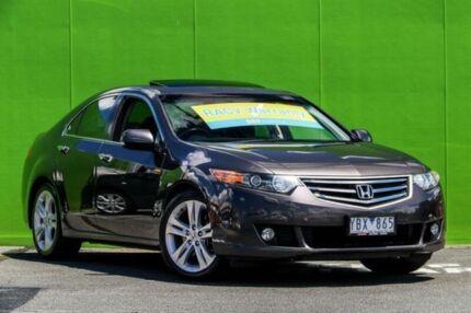 2010 Honda Accord Euro CU MY11 Luxury Navi Grey 5 Speed Automatic Sedan Ringwood East Maroondah Area Preview