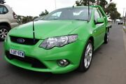 2008 Ford Falcon FG XR6 Ute Super Cab Green 4 Speed Sports Automatic Utility West Footscray Maribyrnong Area Preview