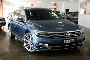 2015 Volkswagen Passat 3C (B8) MY16 140TDI DSG Highline Blue 6 Speed Sports Automatic Dual Clutch Frankston Frankston Area Preview