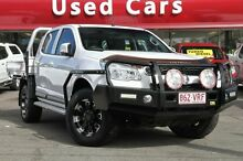 2012 Holden Colorado RG MY13 LX Crew Cab White 5 Speed Manual Utility Springwood Logan Area Preview