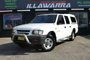 2000 Holden Rodeo TF R9 LX White 5 Speed Manual 4D UTILITY Barrack Heights Shellharbour Area Preview