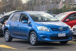 2011 Toyota Corolla ZRE152R MY11 Ascent Blue 4 Speed Automatic Hatchback Ringwood East Maroondah Area Preview