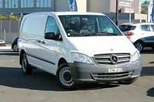2012 Mercedes-Benz Vito 639 MY11 110CDI SWB White 6 Speed Manual Van Brookvale Manly Area Preview