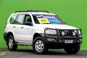 2003 Toyota Landcruiser Prado KZJ120R GX White 5 Speed Manual Wagon Ringwood East Maroondah Area Preview