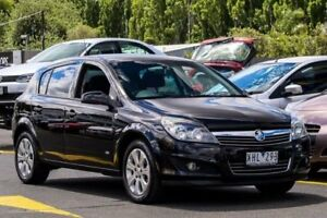 2009 Holden Astra AH MY09 CD Black 4 Speed Automatic Hatchback Ringwood East Maroondah Area Preview