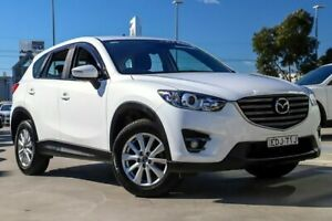 2015 Mazda CX-5 KE1032 Maxx SKYACTIV-Drive AWD Sport Crystal White Pearl 6 Speed Sports Automatic Kirrawee Sutherland Area Preview