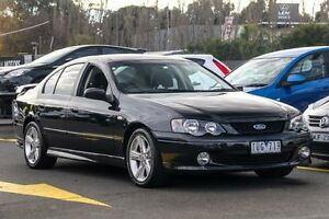 2005 Ford Falcon BA Mk II XR6 Black 4 Speed Sports Automatic Sedan Ringwood East Maroondah Area Preview