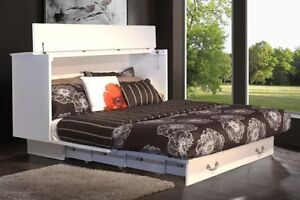 Murphy Bed Queen or Double Bed Chest