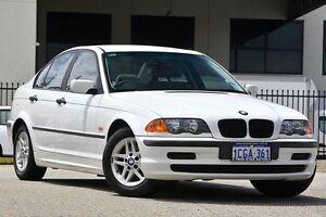 2001 BMW 318I E46 White 4 Speed Auto Steptronic Sedan Malaga Swan Area Preview