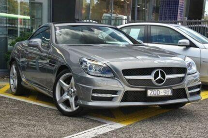 2013 Mercedes-Benz SLK250 R172 7G-Tronic + Silver 7 Speed Auto Seq Sportshift Roadster Fairfield Darebin Area Preview