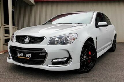 2016 Holden Commodore White Manual Sedan