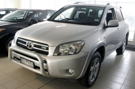 2008 Toyota RAV4 GSA33R MY08 SX6 Silver 5 Speed Automatic Wagon Doncaster Manningham Area Preview