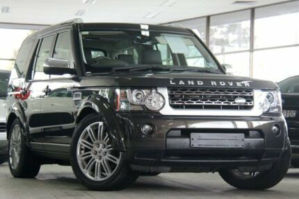 2012 Land Rover Discovery 4 MY12 3.0 SDV6 HSE Luxury Grey 6 Speed Automatic Wagon Roseville Ku-ring-gai Area Preview