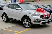2016 Hyundai Santa Fe DM3 MY16 Highlander Silver 6 Speed Sports Automatic Wagon Pennant Hills Hornsby Area Preview