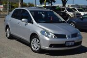 2010 Nissan Tiida C11 MY07 ST Silver 4 Speed Automatic Sedan Pearsall Wanneroo Area Preview