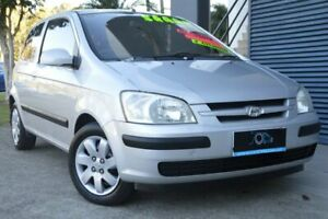 2004 Hyundai Getz TB MY04 GL Silver 4 Speed Automatic Hatchback Ashmore Gold Coast City Preview
