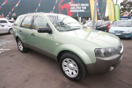 2007 Ford Territory SY TX Green 4 Speed Sports Automatic Wagon Kingsville Maribyrnong Area Preview