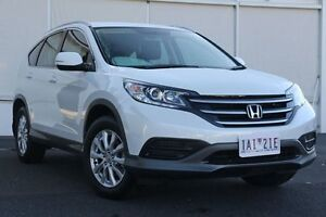 2013 Honda CR-V RM MY14 VTi 4WD White Orchid 5 Speed Sports Automatic Wagon Upper Ferntree Gully Knox Area Preview