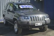 2003 Jeep Grand Cherokee WG MY2003 Laredo Grey 5 Speed Automatic Wagon Enfield Port Adelaide Area Preview