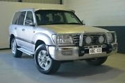 2002 Toyota Landcruiser HDJ100R GXL Silver 5 Speed Manual Wagon Blair Athol Port Adelaide Area Preview