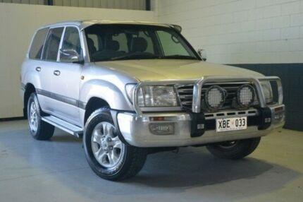 2002 Toyota Landcruiser HDJ100R GXL Silver 5 Speed Manual Wagon Blair Athol Port Adelaide Area Preview