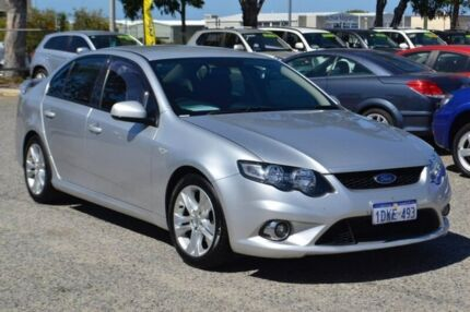 2010 Ford Falcon FG XR6 Silver 5 Speed Sports Automatic Sedan Pearsall Wanneroo Area Preview