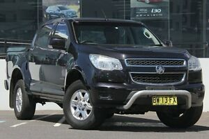 2013 Holden Colorado RG LT (4x2) Black 6 Speed Automatic Crewcab Wolli Creek Rockdale Area Preview