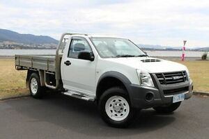 2010 Isuzu D-MAX MY10 EX White 5 Speed Manual Cab Chassis Invermay Launceston Area Preview