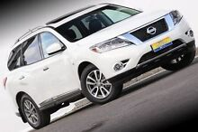 2014 Nissan Pathfinder R52 MY14 ST-L X-tronic 4WD White 1 Speed Constant Variable Wagon Ferntree Gully Knox Area Preview
