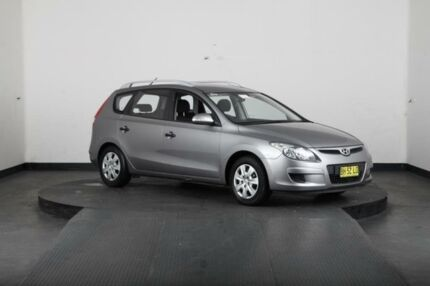 2010 Hyundai i30 FD MY10 CW SX 2.0 Grey 4 Speed Automatic Wagon Greenacre Bankstown Area Preview