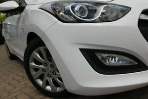 2014 Hyundai i30 GD MY14 Active White 6 Speed Automatic Hatchback