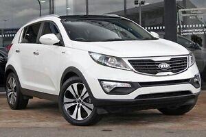 2013 Kia Sportage SL MY13 Platinum White 6 Speed Sports Automatic Wagon Parramatta Parramatta Area Preview