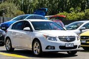 2013 Holden Cruze JH Series II MY13 Equipe White 6 Speed Sports Automatic Hatchback Ringwood East Maroondah Area Preview