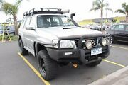 2007 Nissan Patrol GU IV MY07 ST (4x4) Silver 5 Speed Manual Wagon Heatherton Kingston Area Preview