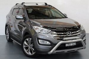 2015 Hyundai Santa Fe DM2 MY15 Highlander Silver 6 Speed Sports Automatic Wagon Cardiff Lake Macquarie Area Preview