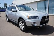 2011 Mitsubishi Outlander ZH MY11 LS 2WD Silver 6 Speed Constant Variable Wagon Cardiff Lake Macquarie Area Preview