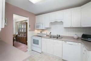 Used 10 X 10 White Kitchen Cupboards and Countertop