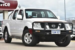 2010 Nissan Navara D40 ST (4x4) White 6 Speed Manual Utility Victoria Park Victoria Park Area Preview
