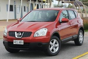 2008 Nissan Dualis J10 ST X-tronic AWD Burgundy 6 Speed Constant Variable Hatchback Christies Beach Morphett Vale Area Preview