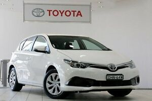 2015 Toyota Corolla ZRE182R Ascent S-CVT Glacier White 7 Speed Constant Variable Hatchback Waterloo Inner Sydney Preview