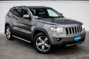 2012 Jeep Grand Cherokee WK MY2012 Limited Grey 5 Speed Sports Automatic Wagon Thornlie Gosnells Area Preview