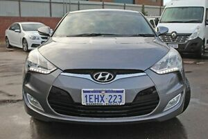 2013 Hyundai Veloster Silver Sports Automatic Dual Clutch Hatchback Wangara Wanneroo Area Preview
