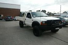 2001 Ford F250 RM XL (4x4) White 5 Speed Manual Cab Chassis Smithfield Parramatta Area Preview