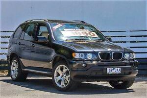 2002 BMW X5 E53 Steptronic Sapphire Black 5 Speed Sports Automatic Wagon Ringwood East Maroondah Area Preview