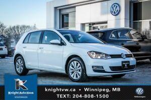 2015 Volkswagen Golf Comfortline w/ Leather/Sunroof 0.99% Financ
