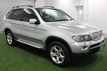 2004 BMW X5 E53 MY04 Steptronic Silver 6 Speed Sports Automatic Wagon Moonah Glenorchy Area Preview